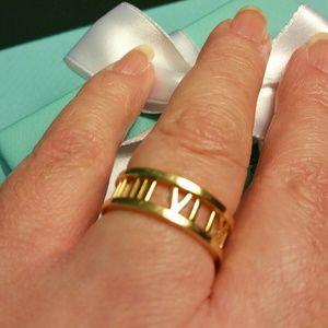 7357f2c5afa Tiffany & Co. Jewelry   18k Gold Tiffany Co Open Atlas Ring   Poshmark